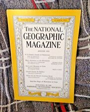 NATIONAL GEOGRAPHIC AUG 1952 US.CAPITOL;HIMALYAS;BACKYARD MONSTERS;CARIBOU;WATER