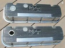 Mickey Thompson Big Block Chevy Valve Covers Polished Aluminum M/T 396 427 454