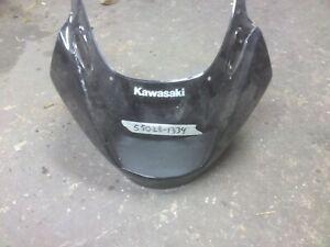 KAWASAKI GPZ1100-E, GPZ1100E, Front top fairing, cowl, nose, Black 55028-1334