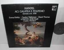 HMC 1253.54 Handel Acis  Galatea E Polifemo Emma Kirkby London Baroque 2LP Box