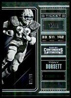 2018 Panini Contenders Draft Picks Bowl Ticket #95 Tony Dorsett /99