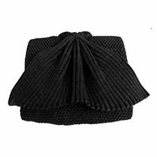 Hughapy Knitted Mermaid Tail Blanket Black Soft Creative Perfect Size High Quali