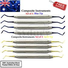 8 Pcs Composite Instruments Filling Ball Burnisher Restoration Stainless Steel