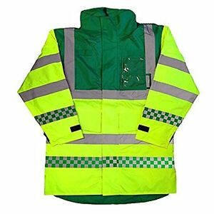 AMBULANCE EMT PARAMEDIC HIGH VISIBILITY COAT PARKA BREATHABLE NEW