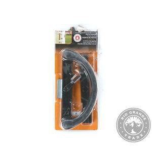 OPEN BOX PRIME-LINE C 1238 Sliding Door Reverse Hook Clamp Latch in Black
