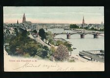 Frankfurt Single Posted Printed Collectable German Postcards