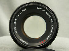 CANON FD 100mm f:2,8 SSC Prime Lens !