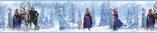 DISNEY FROZEN Princess Wallpaper Border 15' Peel & Stick Anna Elsa Olaf Sven