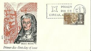 Spain 1968 First Day Cover - Beatriz Galindo