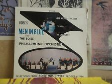 BOISE'S MEN IN BLUE BOISE PHILHARMONIC 1966 - IDAHO LP