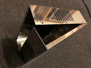 10 X 10 1/2 X 3 inch  stainless project/amp  box