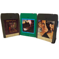 Lot of 3 STYX Piece of Eight Cornerstone Grand Illusion 8 Track Tested & Works
