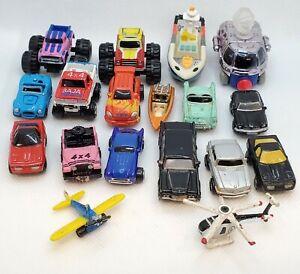 Micro Machines Random Lot of 18 Cars Trucks Monster Trucks Boats Deluxe Lot 2
