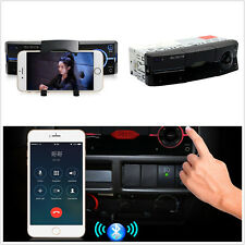 12V Single Din Car SUV Audio Stereo Lossless Bluetooth MP3 Music Player Handfree