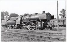 Poland; Steam Locomotive Ty43-92 At Wolsztyn Depot, 31-5-04 PC Size BW Photo