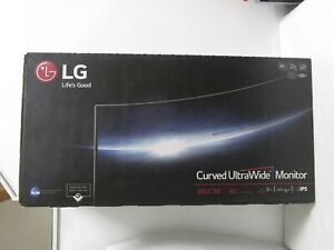 "LG 38UC99-W 38"" 21:9 WQHD+ Curved IPS FreeSync Monitor NEW SEALED SHIPS FREE!"