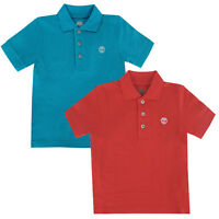 Timberland Short Sleeve Kids Children Boys Cotton Polo Shirts Top T0204 UA13