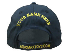 Aeromax Jr. Astronaut With Orange Trim Cap Only Black
