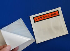 200 Invoice Enclosed 4 12 X 5 12 Slips Envelopes Box Pouches Packing 55