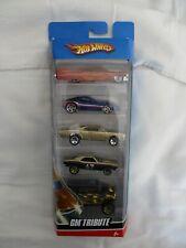 Hot Wheels 2006 GM Tribute 5x Pack Inc 67 Camaro, Pontiac GTO Mint In Packet