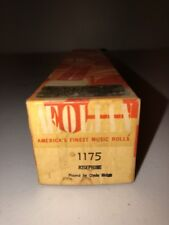 Aeolian Player Piano Roll 1175 Josephine Played By Clyde Ridge