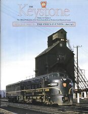 Keystone PRR V38 N1 2005 F Units Diesel Locomotives Painting Numbering Leased
