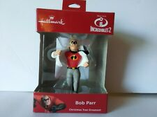 2018 Hallmark Incredibles 2 Bob Parr Christmas Ornament Disney Pixar