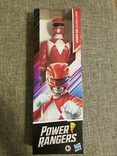Mighty Morphin Power Rangers 12-inch Action Figure Red Ranger New Hasbro