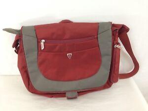 Sumdex Alti-Pac 16 Inch Orange Messenger Notebook Laptop Bag