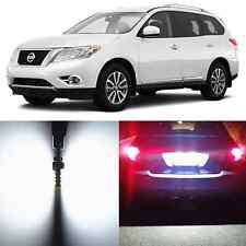 Alla Lighting License Plate Light 2825 168 White LED Bulb for Nissan Quest Rogue