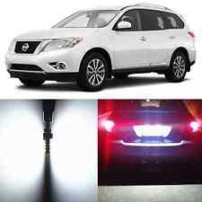 Alla Lighting License Plate Light White LED Bulbs for Nissan Pathfinder NV1500