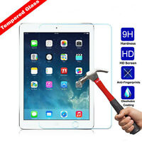For iPad 4 3 2 Mini4 Air 1/2 9H Premium HD Tempered Glass Screen Protector New