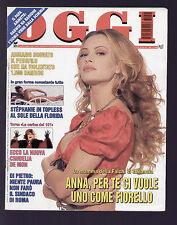OGGI 45/1996 ANNA FALCHI GLENN CLOSE CRUDELIA DE MON JERRY HALL JAGGER VENTURA