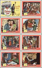 A CHRISTMAS CAROL With ALASTAIR SIM COMPLETE SET OF 8 INDIV 11x14 LC PRINTS 1951