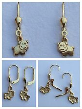Ohrstecker 333er Gold Ohrring Kinderohrring Goldschmuck Goldohrstecker mit Tier