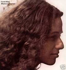 CAROLE KING ~ RHYMES & REASONS ~ 1977 US 12-TRACK LP RE-ISSUE + G/FOLD