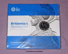 2015 ROYAL MINT SPECIMEN £2 COIN - New Britannia Design - SCARCE SEALED PACK