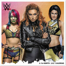 Official WWE Authentic The Women of  2021 Wall Calendar Multi