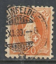 Switzerland stamps 1882 YV 81  P.9 1/2  CANC  VF