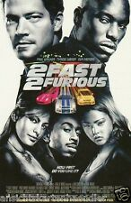 "Carte postale, paul walker, tyrese Gibson, Eva Mendes ""the Fast and Furious 2"""