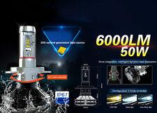 H11 H8 H9 100W 12000LM LED Headlight Kit Low Beam Bulbs 6000K White High Power