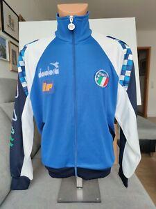 Italien Trikot- Jacke Shirt- Jacket Maglia- Giacca 1990 Italia Italy diadora EM