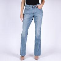 Levi's 515 Bootcut Hellblau Damen Jeans DE 34 / US W27 L32