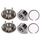 2 Front Wheel Hub Bearing Wsnap For Toyota Sienna Avalon Venza New