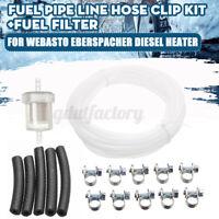 Diesel Heater Air Inline Fuel Line Pipe Hose Clip Filter For Webasto Eberspacher