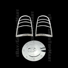 Dodge Ram 1500 2009~2017 &2500/3500 10-16 Chrome Tail lights Gas Cap Covers