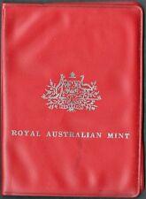 AUSTRALIA 1970 6 PC. UNCIRCULATED SET IN ORIGINAL VINYL WALLET (KM# MS3)