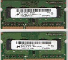Sony Vaio PCG 7111L//PCG 7112L//PCG 7113L////PCG 7141L//PCG 7142L Memory 2x 2GB 4GB