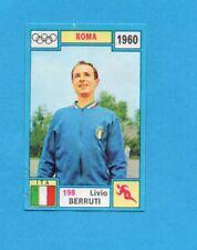 OLYMPIA-1972-PANINI-Figurina DA INCOLLARE! n.198- BERRUTI - ITALIA -Rec