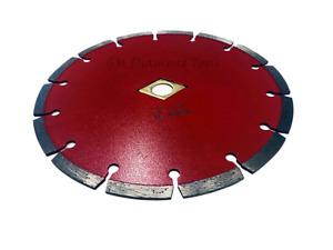 9-inch Segmented Diamond Blade for Cutting Concrete, Brick, Stone and Masonry
